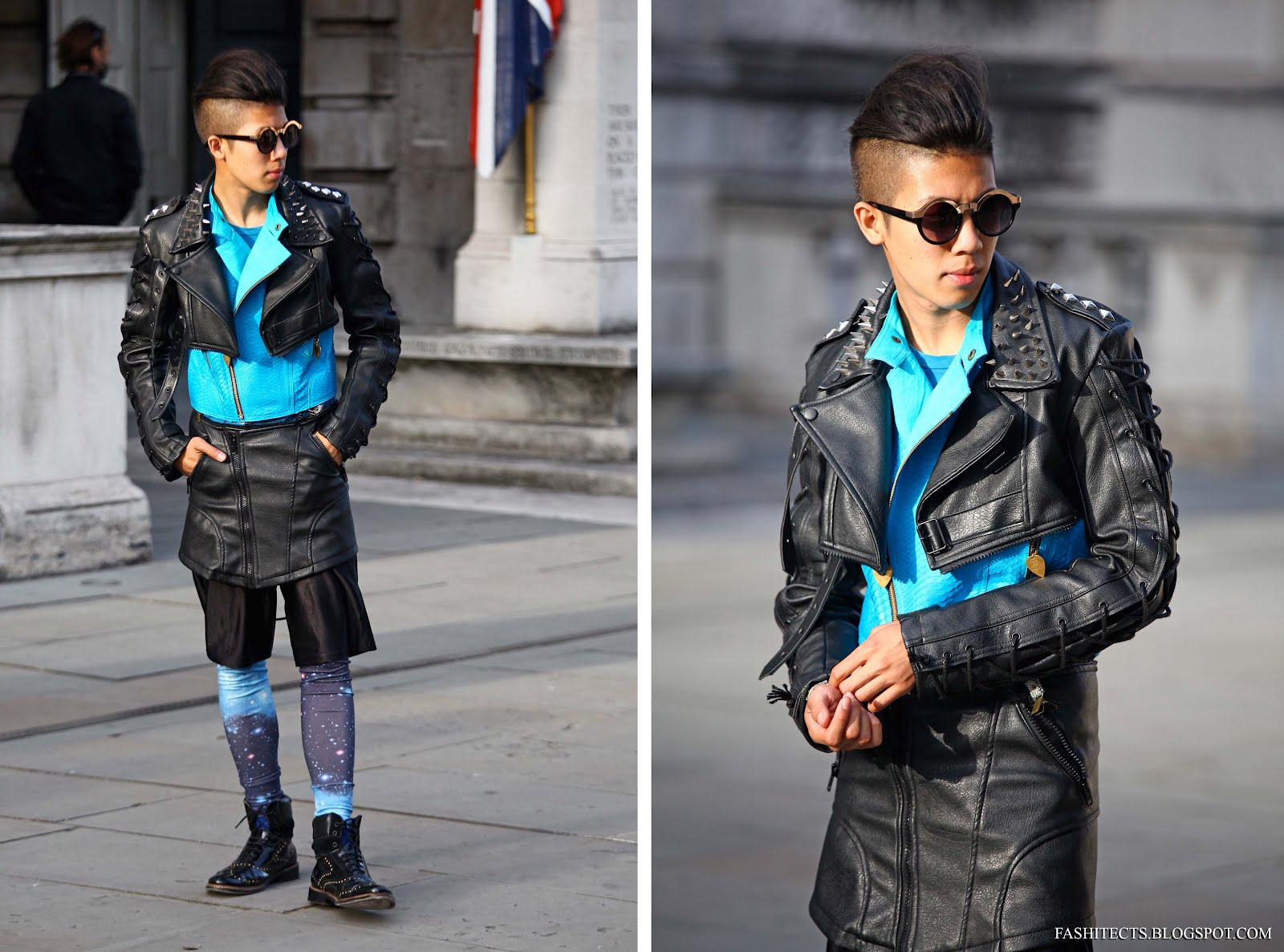LFW Outfit Day 3: Futuristic Galaxy