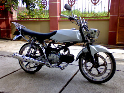 Modif motor Honda Lawas Win100