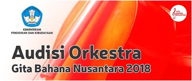 Punya Bakat Musik, Yuk Ikuti Audisi Orkestra Gita Bahana Nusantara 2018