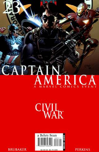 Civil War: Captain America #23 PDF