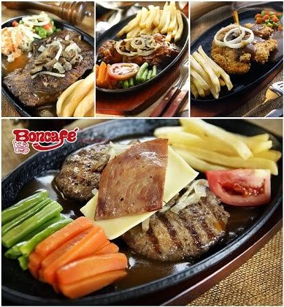 Daftar Harga, harga steak di boncafe surabaya,alamat boncafe surabaya,Harga Menu Boncafe Surabaya,Boncafe Steak & Ice Cream,