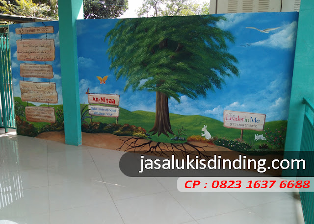Lukisan mural TK