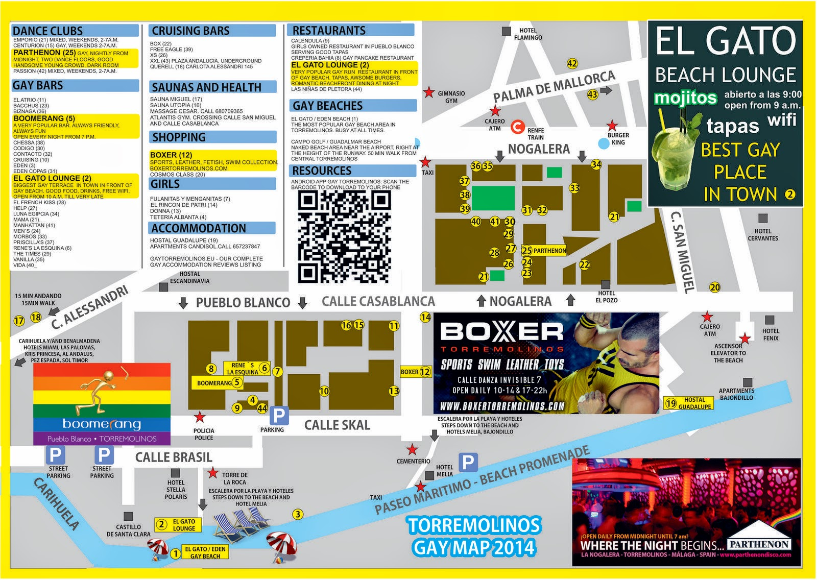torremolinos karta map hotels torremolinos torremolinos karta