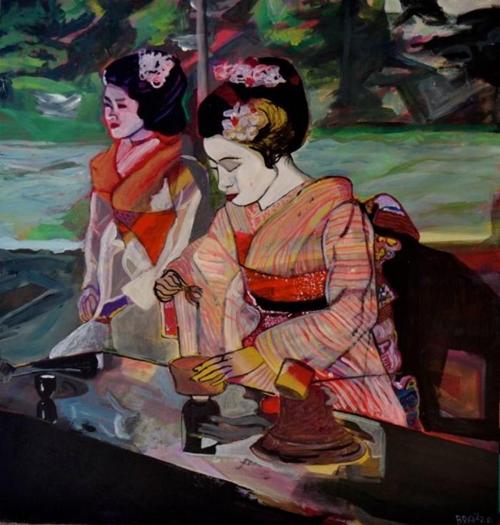Итальянский художникИскусство находится вне меня. Итальянский художник. Marco Menato