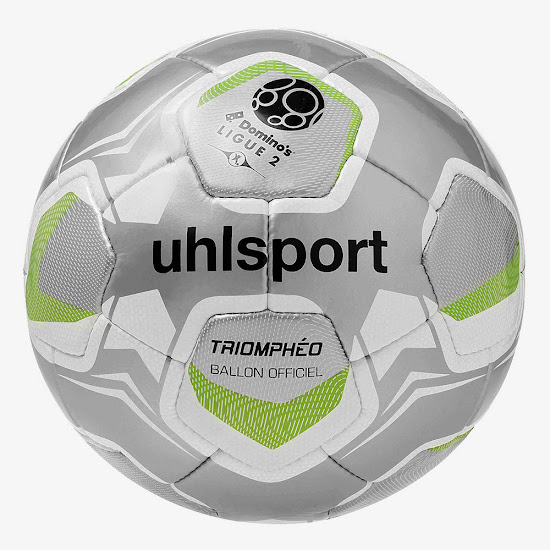 Uhlsport Triompheo Domino S Ligue 2 17 18 Ball Released Footy Headlines
