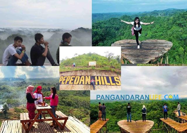 objek wisata alam pepedan hill
