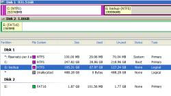 creare una partizione volume su Windows