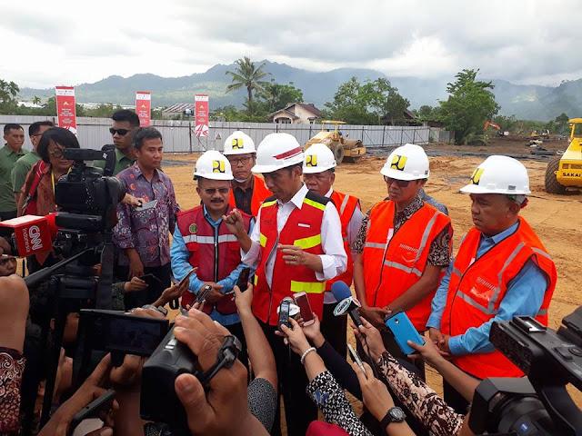 Presiden Jokowi Resmikan Groundbreaking Jalan Tol Padangpariaman-Pekanbaru