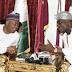 Photos: Ooni of Ife visits Senate President 'Bukola Saraki'