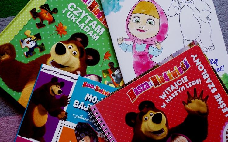 książki o Maszy i Niedźwiedziu