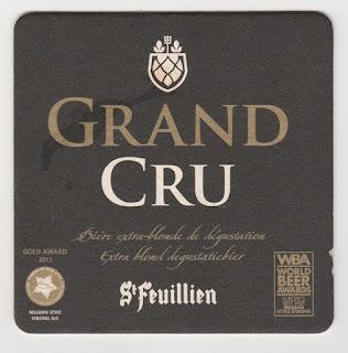 Un sous-bock Grand Cru de la Saint-Feuillien