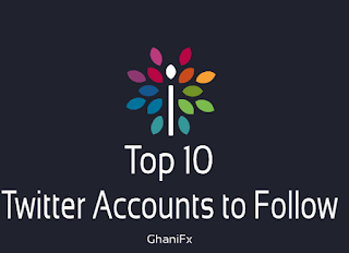 Top 10 Twitter Accounts to Follow.