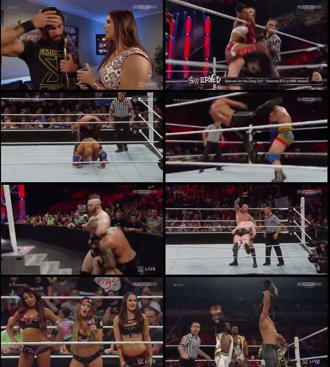 WWE Monday Night RAW 07 Sep 2015 HDTV 480p