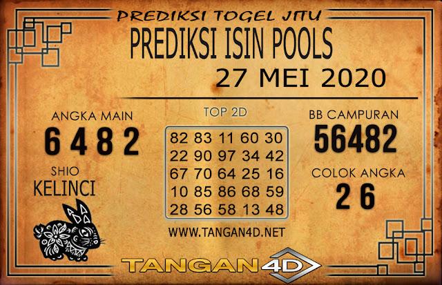 PREDIKSI TOGEL ISIN TANGAN4D 27 MEI 2020