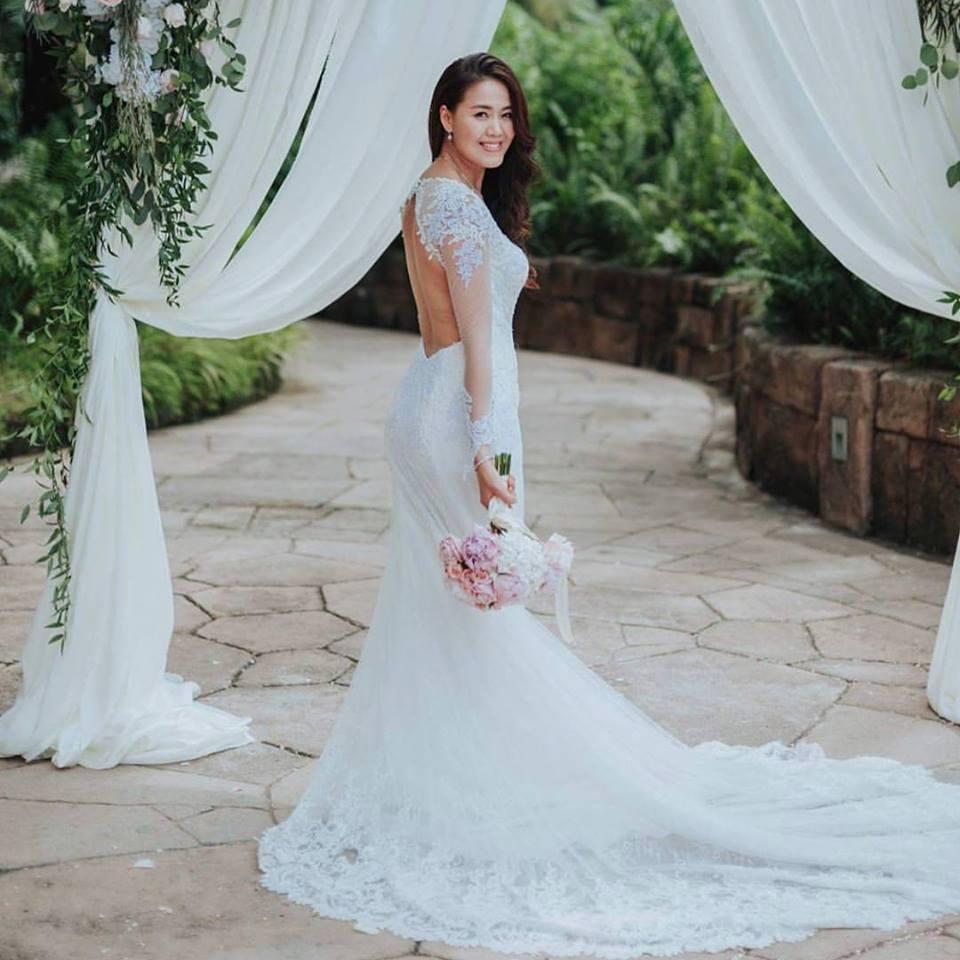 Celest Thoi Bespoke Wedding Gown | The Gardens Midvalley
