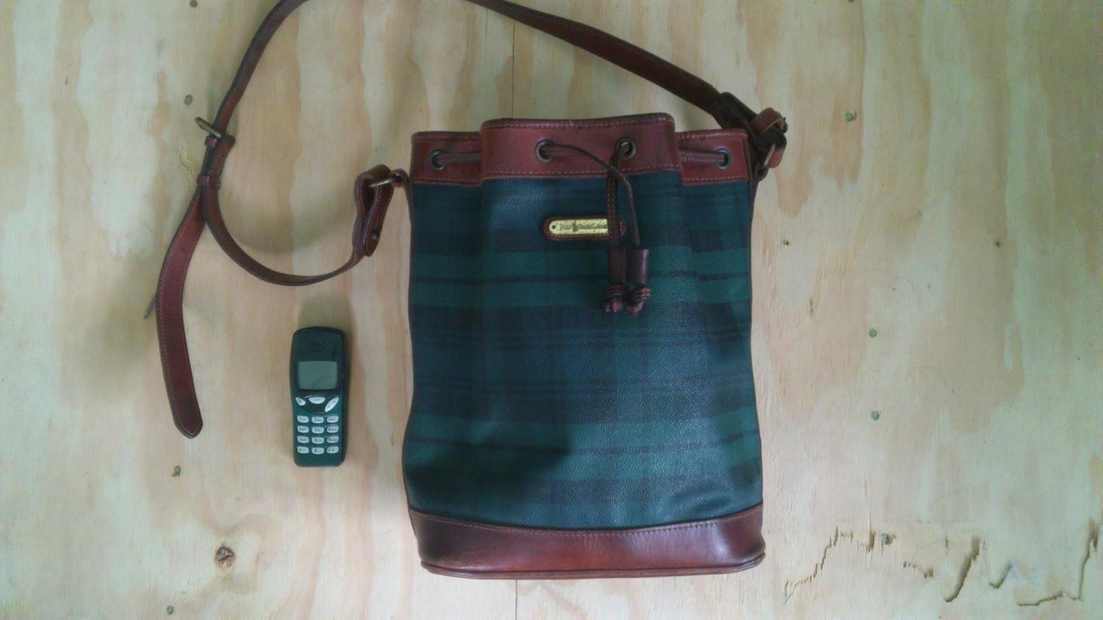 Vintage Ralph Lauren Bucket Bag