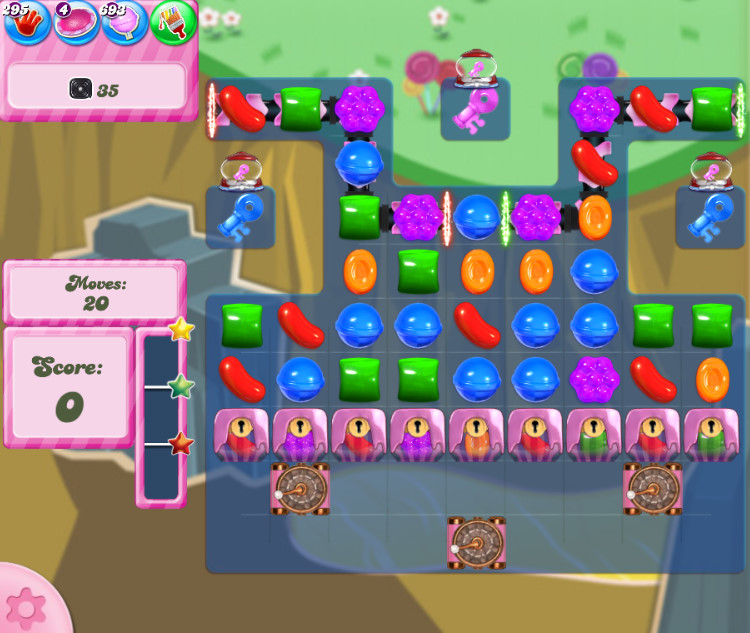 Candy Crush Saga level 2852