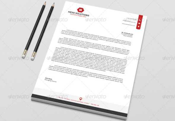 40 Free Premium Letterhead Templates in Multiple Formats – Free Letterhead Templates for Word