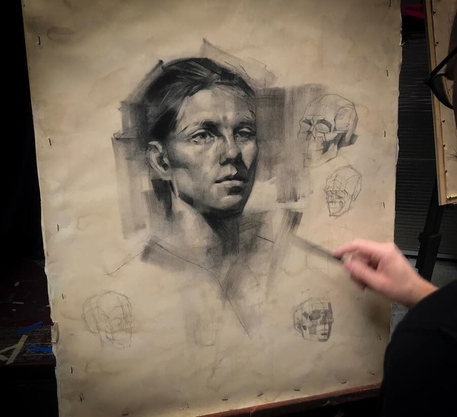 07-Charcoal-Portraits-Charles-Miano-www-designstack-co