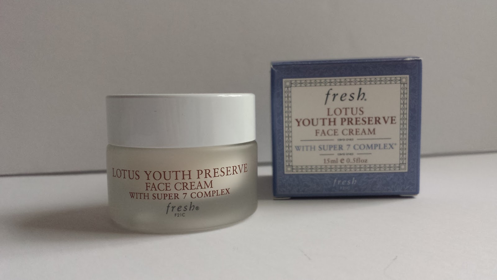 fresh lotus youth preserve face cream review