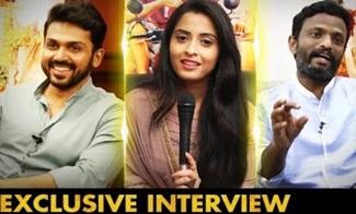 Actor Karthi | Actress Arthana Binu | Kadaikutty Singam Team Interview