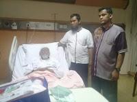 Kaki Mengalami Pembengkakan, Ustadz Ba'asyir Dirawat di RS Harapan Kita
