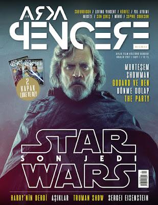 Arka Pencere Mecmua 1. Sayı (Aralık) - Star Wars: The Last Jedi