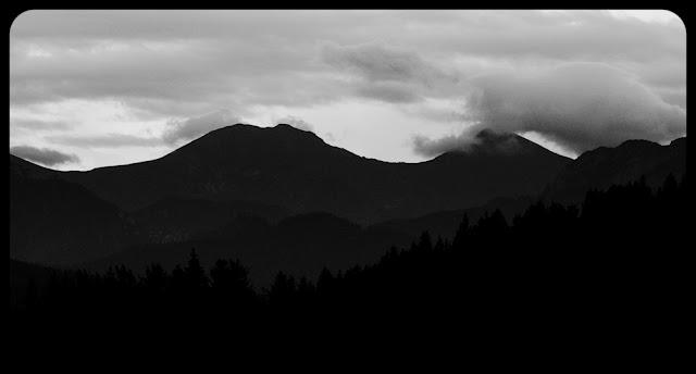 Tatry Zachodnie. Czarno-biała fotografia krajobrazu. fot. Łukasz Cyrus
