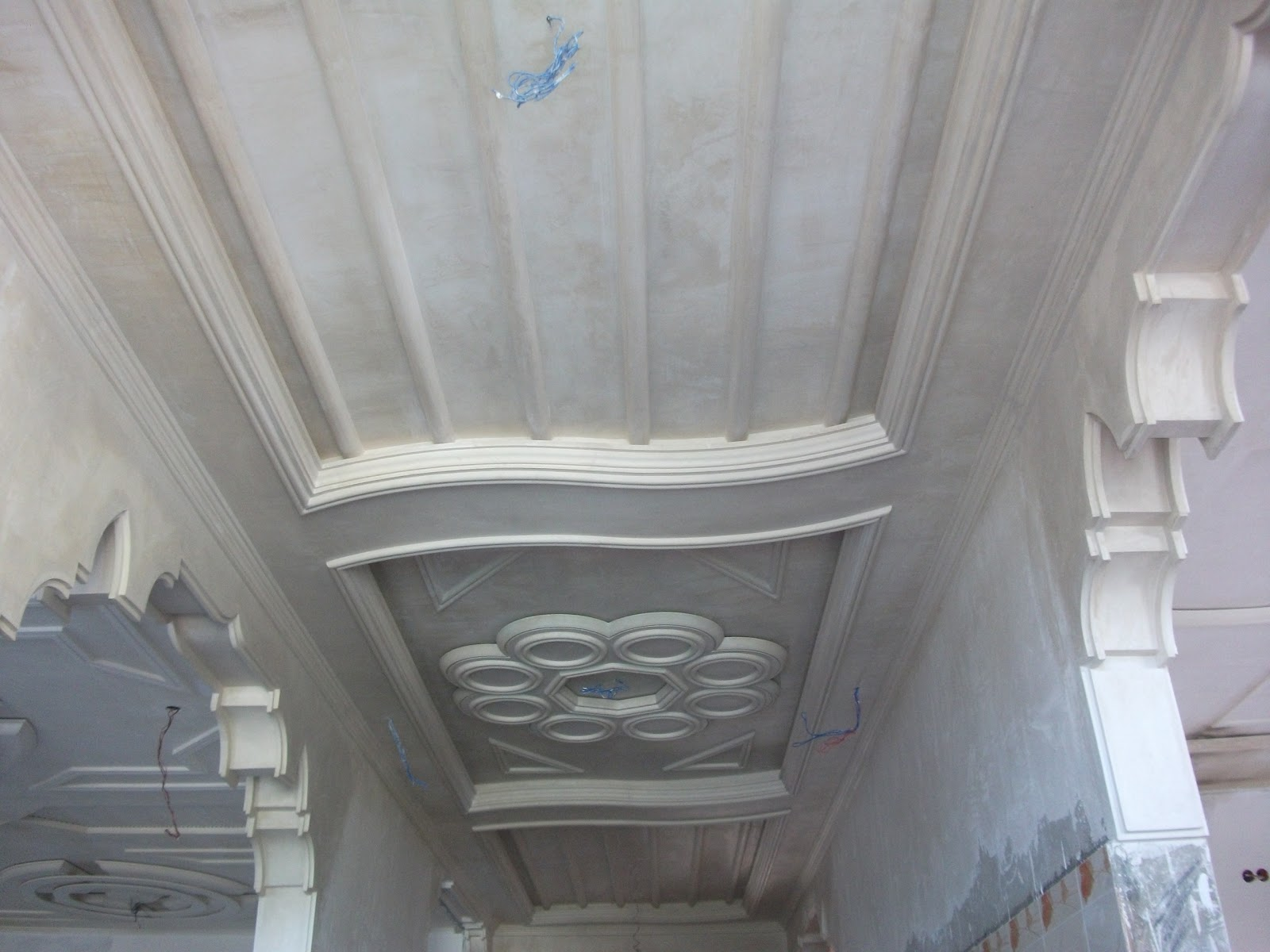 Faux plafond pl tre couloir platre for Platre dicor 2015