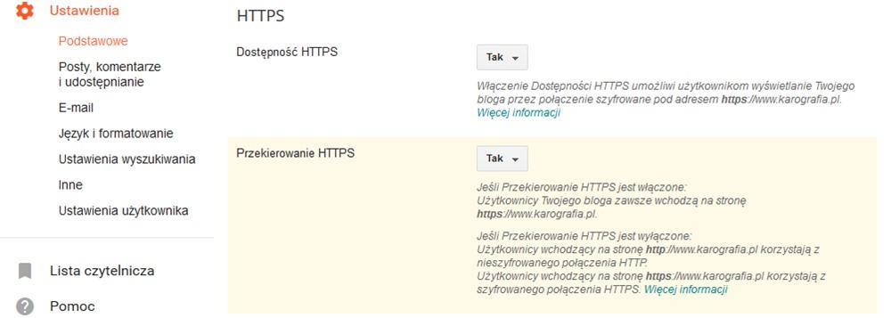 HTTPS na bloggerze - czy warto włączyć, jak to zrobić i o co zadbać później?