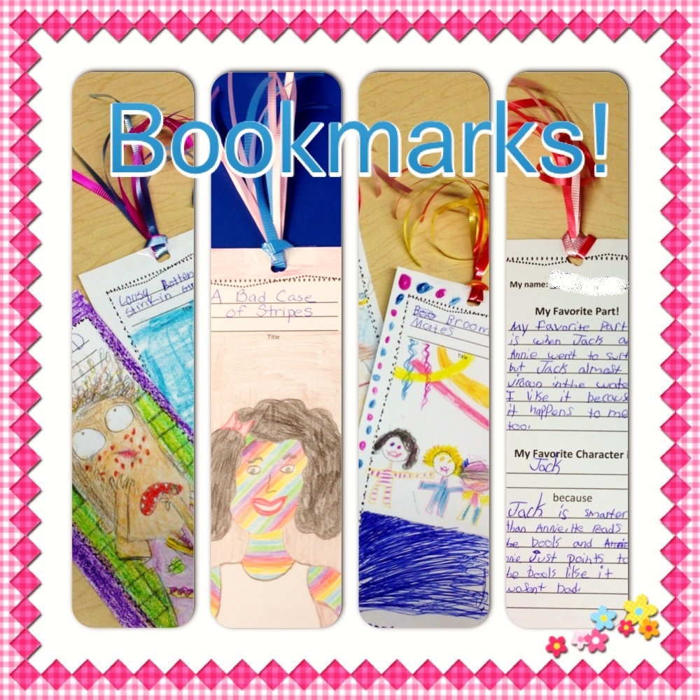 Teaching My Friends!: Bookmark Freebie And Picture Books