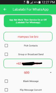 Trik dan cara ampuh boom chat whatsapp