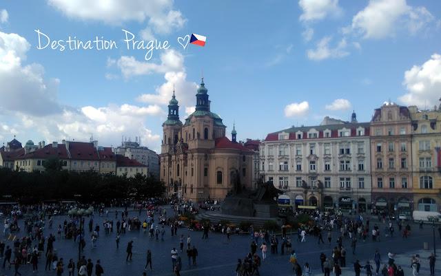 Place Staromestské namesti de Prague en République tchèque