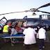 المروحية الطبية لوزارة الصحة تنقل امراة في حالة صحية حرجة من دوار باتيلي بالجماعة القروية انركي إلى المركز الاستشفائي الإقليمي بأزيلال