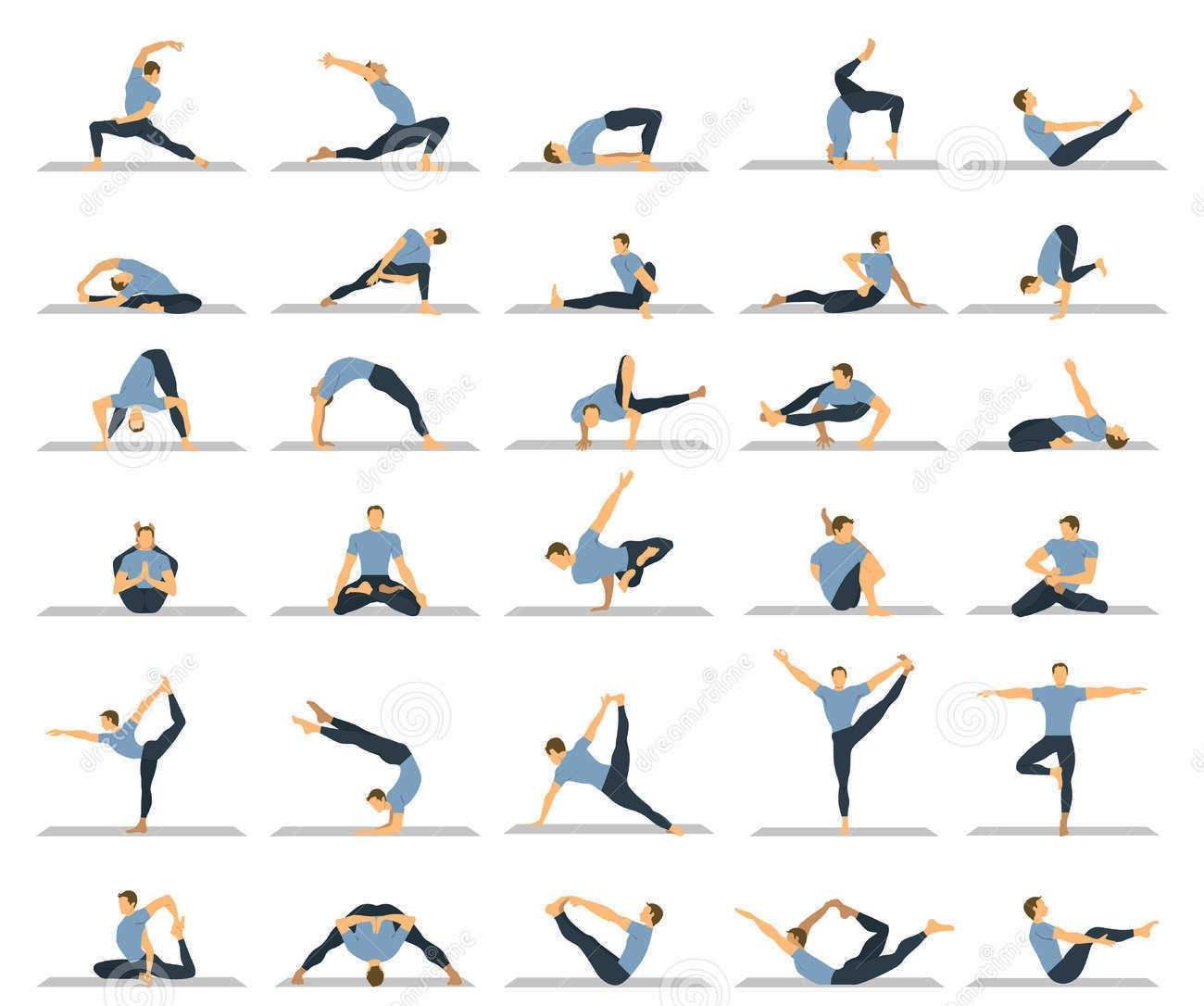 Yoga poses for male sexuality