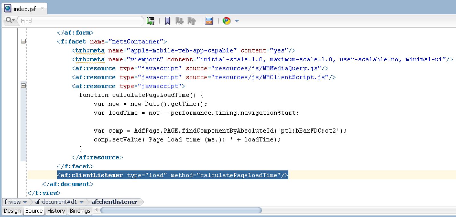 Andrejus Baranovskis Blog: Monitoring Page Load Time on ADF UI