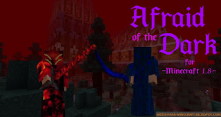 Afraid of the Dark Mod para Minecraft 1.8