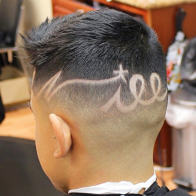 Amazing Hair Tattoos By Juan The Barber The Haircut Web