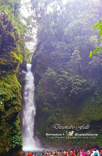 Ditumabo Falls Basin - Schadow1 Expeditions