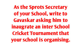 Inaugrate an inter School Cricket Tournament