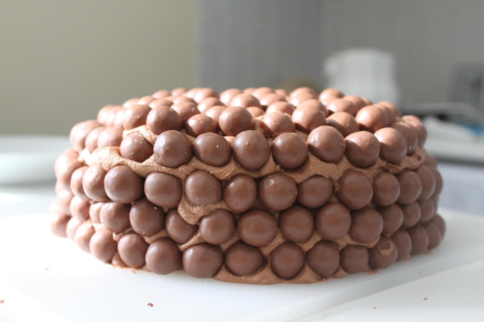Malteser Sponge Cake Recipe