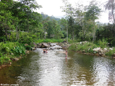 Mountain river Lan Saka