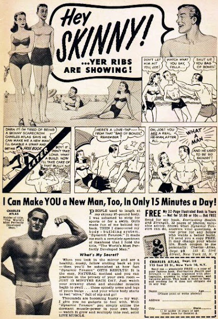 Charles Atlas advert