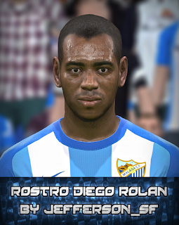 PES 2017 Faces Diego Rolán by FaceEditor Jefferson_SF