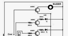Wiring Schematic Diagram: Water Level Indicator With