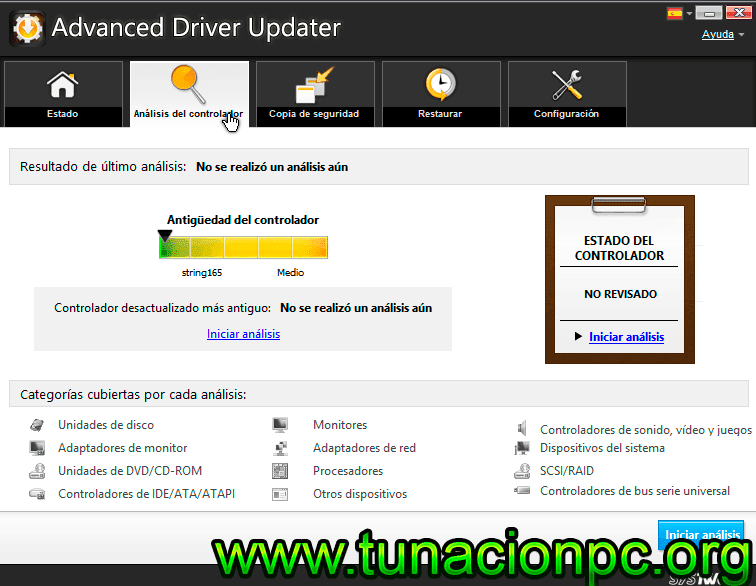 Descargar SysTweak Advanced Driver Updater Full Español con Activador