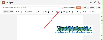 Blog new post image upload icon