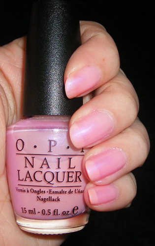 xoxoJen's swatch of OPI - Hawaiian Orchid