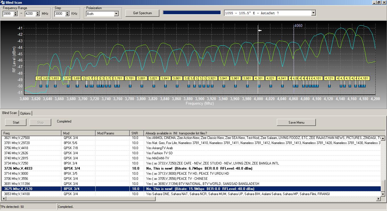 Cara Blind Scan Parabola menggunakan DVBdream Terbaru