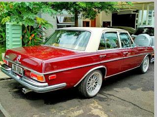 Apik Banjet Iki Mersine Son...Yakinlah Sumpah Mercedes 280S Tahun 1970 - TANGSEL
